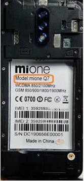 Mione Q7 Flash File