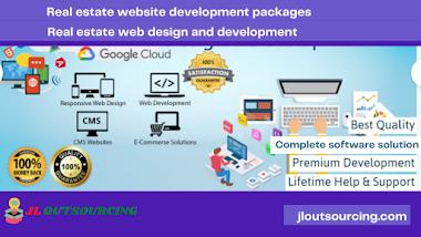 Real estate website development packages | web design and development