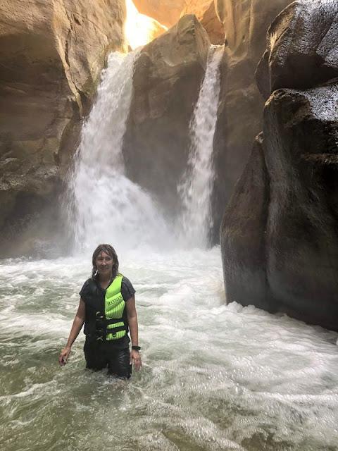 wadi mujib cascata nel siq trail