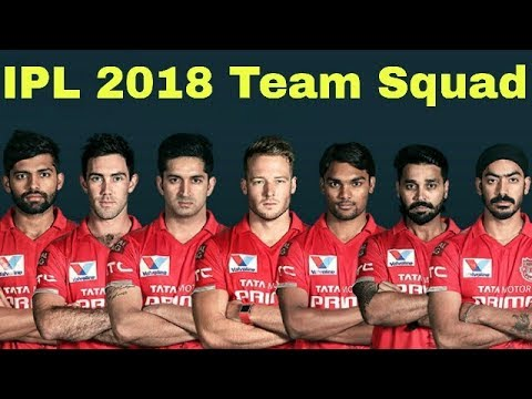 IPL 2018 Teams and Players list|IPL Teams 2018 Squad: IPL 11 Teams and Players