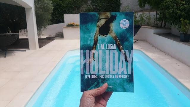 Holiday T.M. Logan avis chronique livre addict happymanda happybook