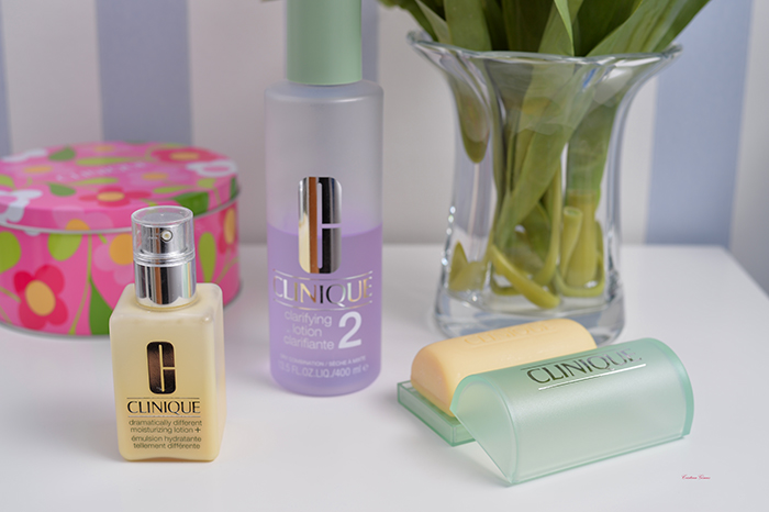 clinique 3 step beauty routine