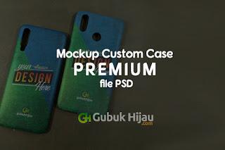 Mockup Custom Case Premium