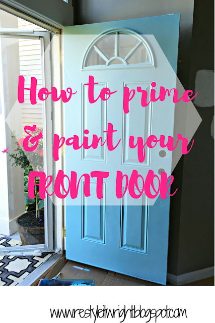 how to prime and paint the front door sherwin williams cay