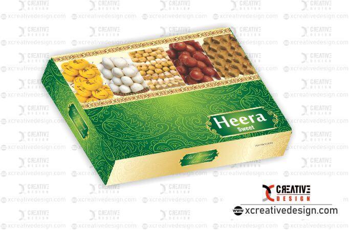 Mithai Box Design