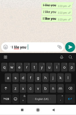 How to Change fonts in whatsapp
