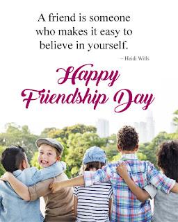 Happy Friendship Day Status in English