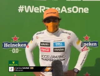 Carlos Sainz segundo F1 Monza