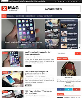 xmag-responsive-blogger-template