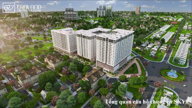 Tổng quan căn hộ chung cư sky 9