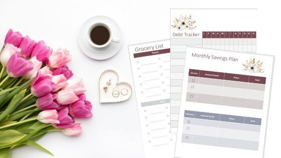Home Management Binder for busy moms