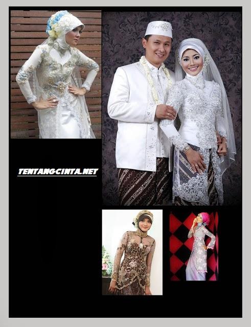 Aneka model model kebaya untuk pernikahan terbaru