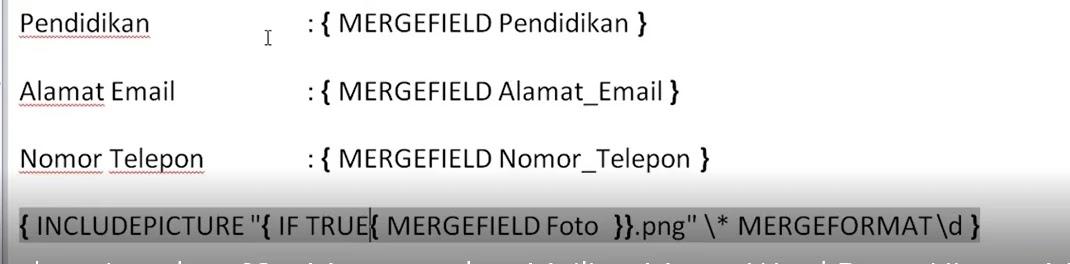Panduan langkah Membuat Mailing Merge Di Microsoft Word
