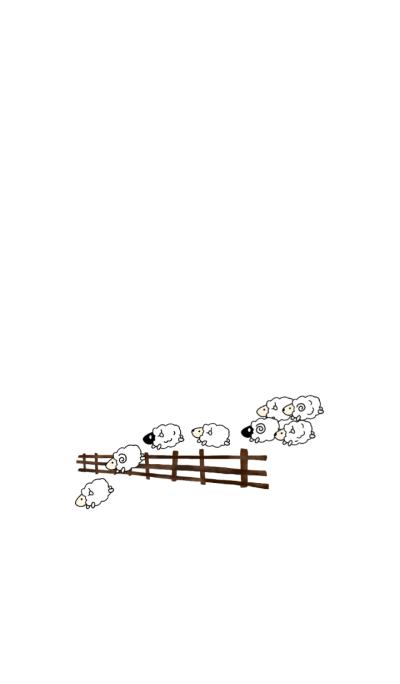 One sheep,Two sheep...Sleep....