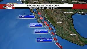 Tropical Storm Nora