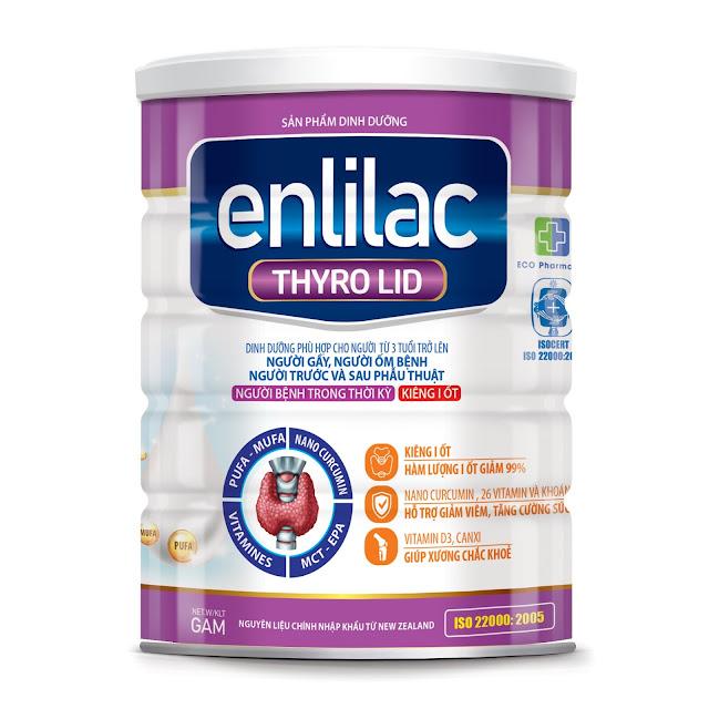 Sữa Enlilac Thyro Lid