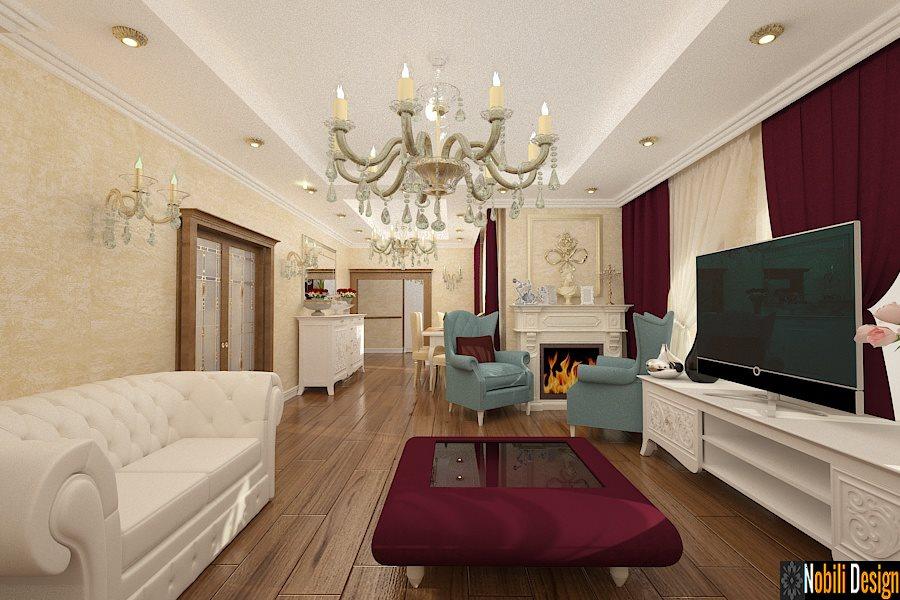 Proiecte - design - interioare - case - stil - clasic - Bucuresti