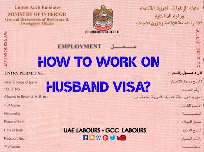Wife visa dubai, Housewife visa dubai, Working on housewife visa in uae