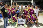 Tim Futsal Pers Minsel Juara Memperebutkan Piala Walikota Manado.
