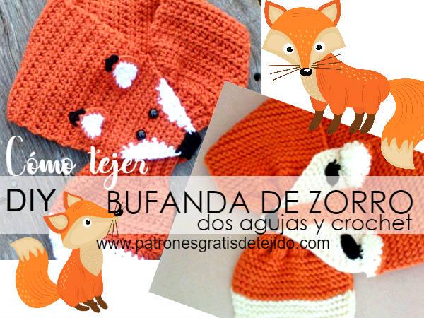 bufanda-zorro-tricot-crochet