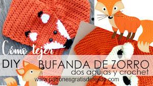 Cómo tejer bufandas de zorro / Tutoriales