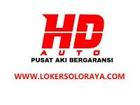 Lowongan Kerja Solobaru Teknisi di Gerai HD Auto
