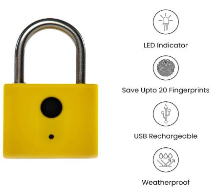 Keyless Entry Smart Fingerprint Lock