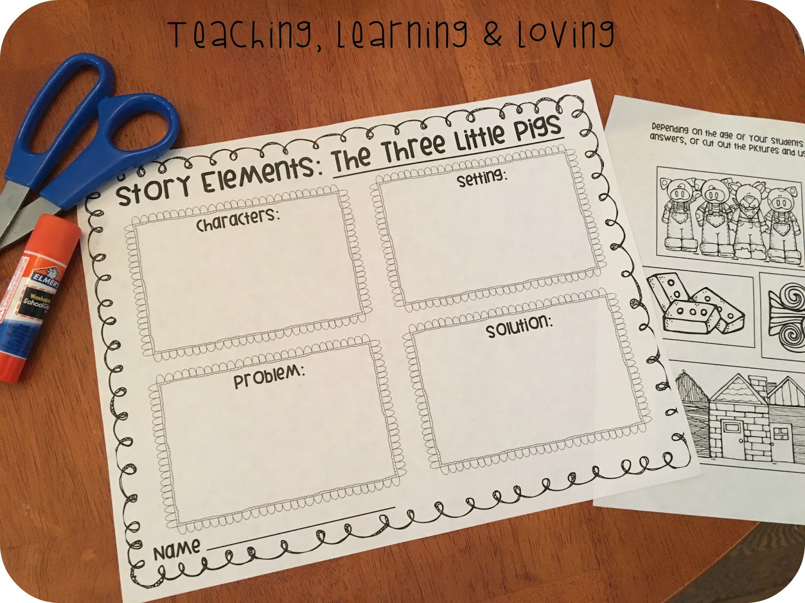 Teaching Learning Amp Loving Three Little Pigs New Unit