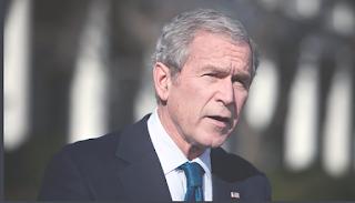Bush dəhşətlər içində