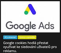 Google cookies hodlá přestat využívat ke sledování uživatelů pro reklamu. - AzaNoviny.eu