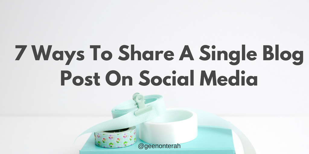 How to autopost from blogger to social media networks | Ytech
