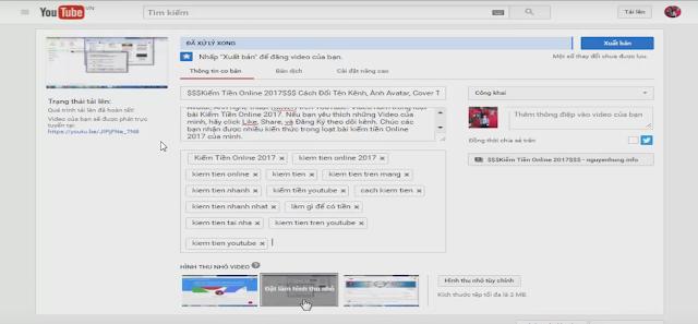 Cách Đăng Tải Video Lên YouTube Chuẩn Không Cần Chỉnh