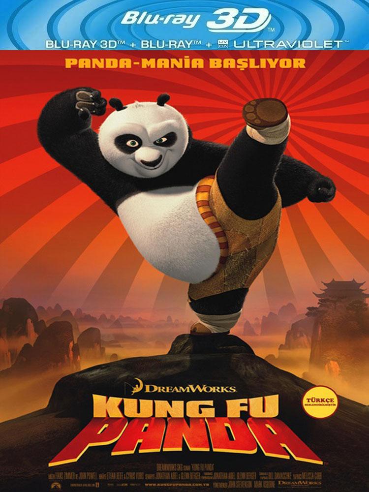 Kung Fu Panda 1 (2008) 3D Film indir