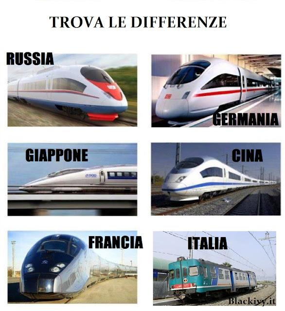 Treni, Trova Le Differenze ...
