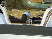Interior Leather cleaning