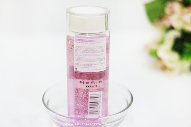 Garnier Sakura White Pinkish Radiance Essence Lotion