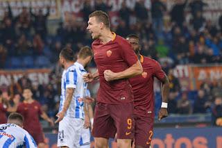 Serie A Roma-Pescara 3-2 highlights video