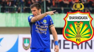 Bhayangkara FC Resmi Rekrut Eks Bek Persib Bandung Vladimir Vujovic
