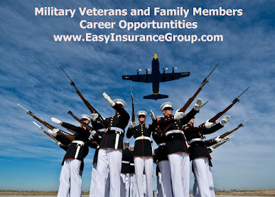 Careers for  Transitioning Military Veterans - EasyInsuranceGroup.com