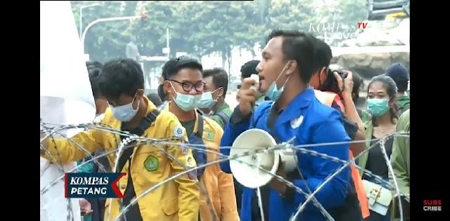 BEM SI Gelar Aksi Lanjutan Diperingatan Satu Tahun Pemerintahan Jokowi-Maruf