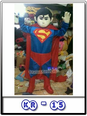 Kostum Badut Karakter Hero Superman Returns Kr-15