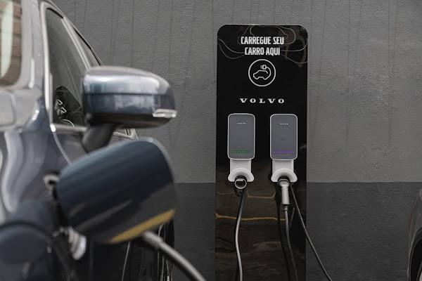 Volvo Car Brasil emprestará frota de veículos híbridos para profissionais de saúde