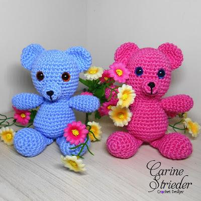 Carine Strieder - Crochet Designer  Nasceu um casal de Urisnhos . fa303812384