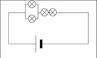 electrical diagram of the electronic circuit parallel
