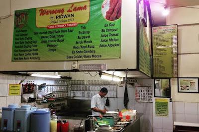 makanan khas malang tempo dulu warung lama haji ridwan