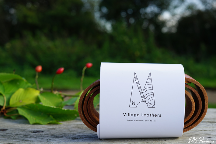 Classic Tan Leather Belt from Village Leathers