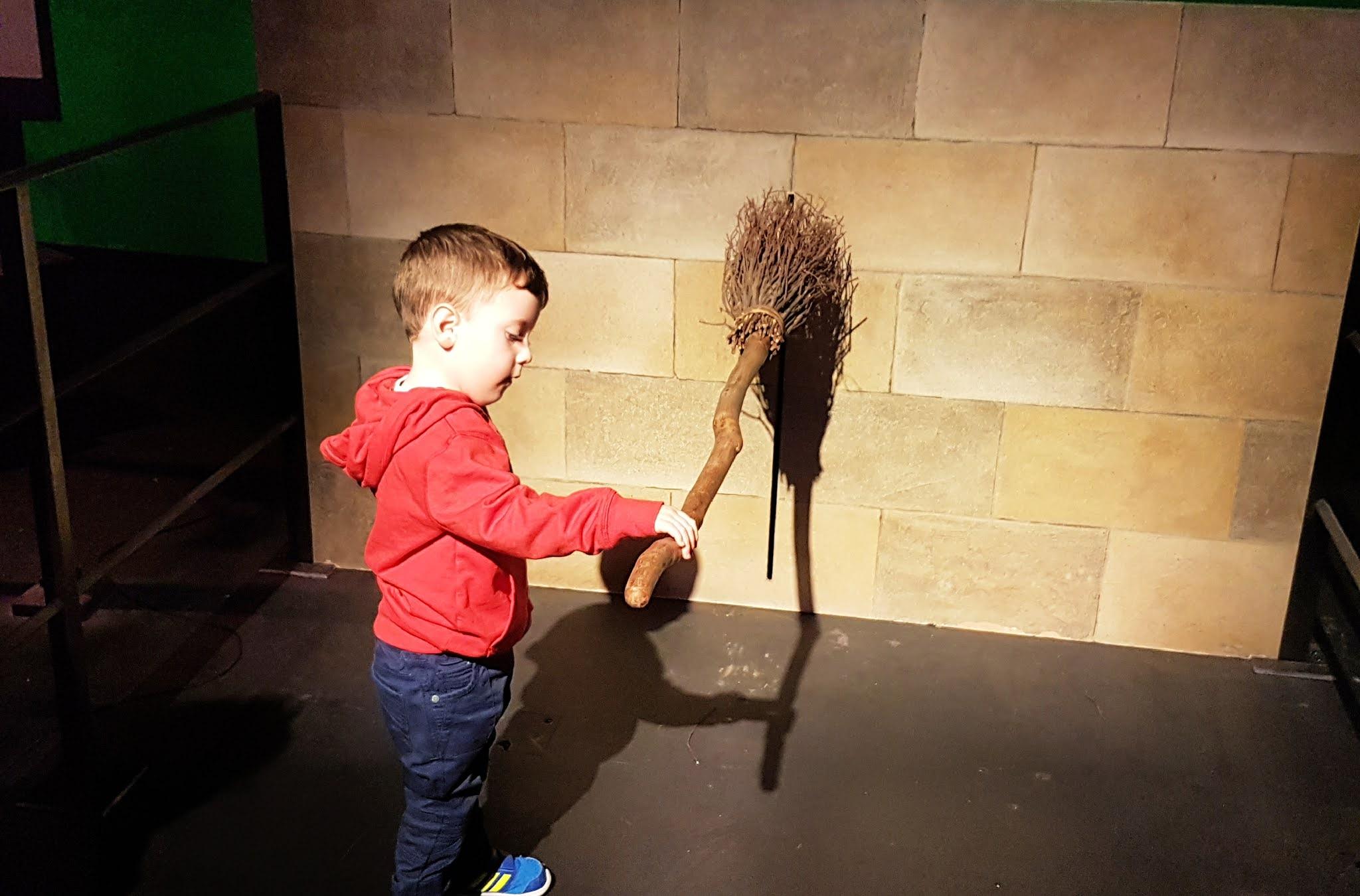 boy with wand
