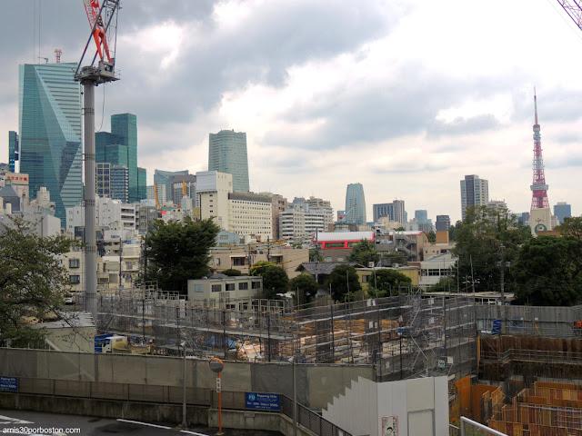 Vista de la Torre de Tokio desde Roppongi Hills Mori Tower