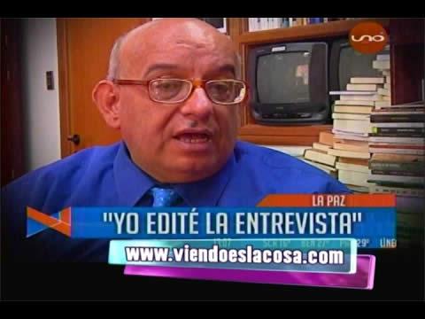 JIMMY ITURRI ADMITE QUE EDITÓ PERSONALMENTE LA ENTREVISTA A GABRIELA ZAPATA DIFUNDIDA POR ATB