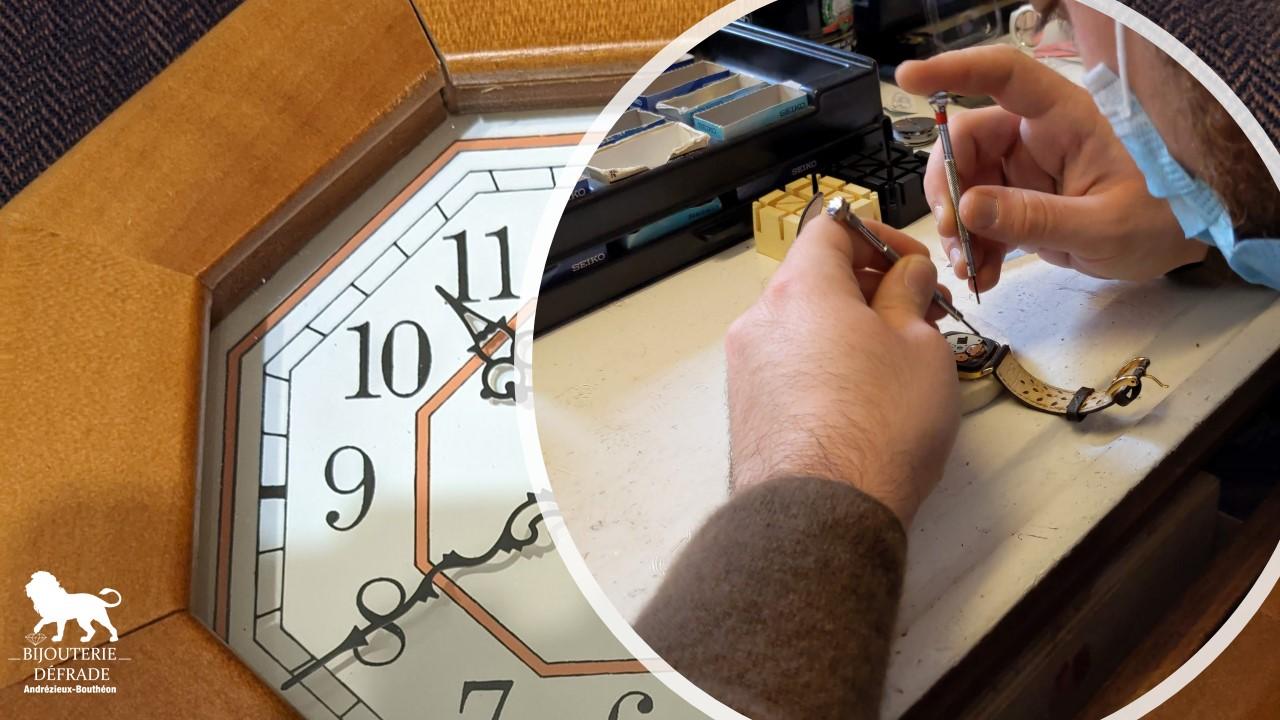 Horlogerie, réparation et vente